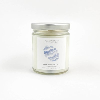 Big Sister Blue Lace Agate Candle