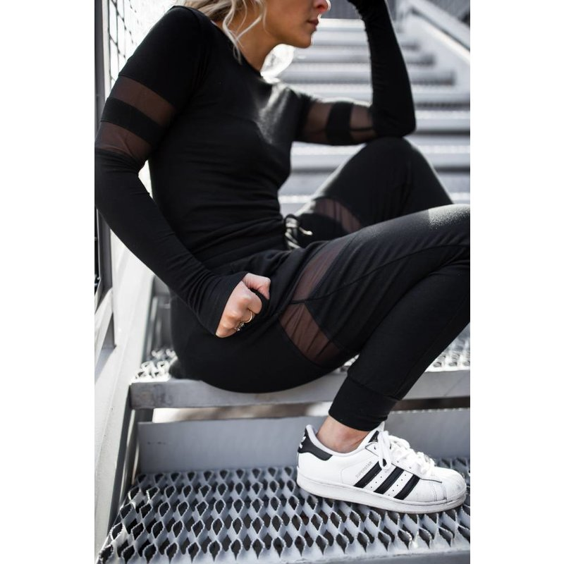 Sporty Chic Long Sleeve