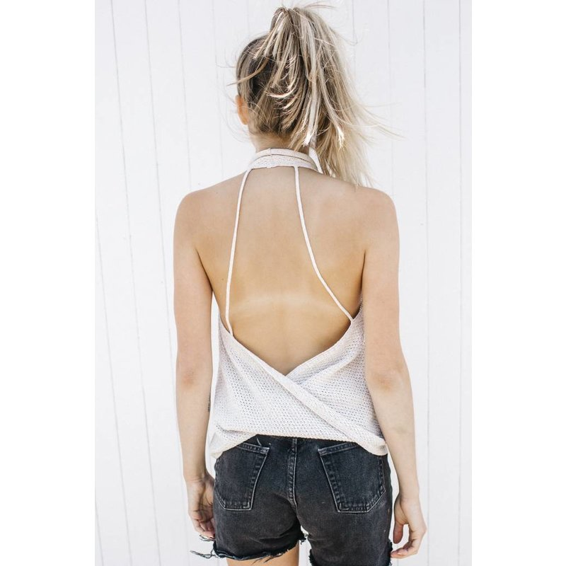 Easy On The Eyes Sweater Tank