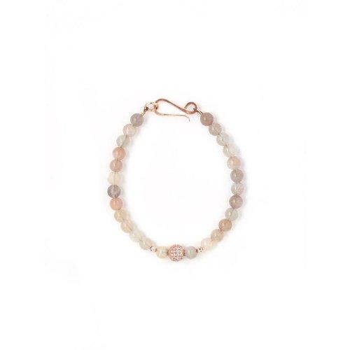 MOTTLA GRACE Harper Peach Moonstone Bracelet