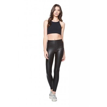 DAVID LERNER Vegan Leather High Rise Legging