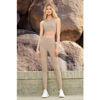 ALO High-Waist Ripped Warrior Legging