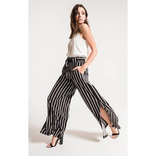 BLACK SWAN DIANA STRIPED PANTS