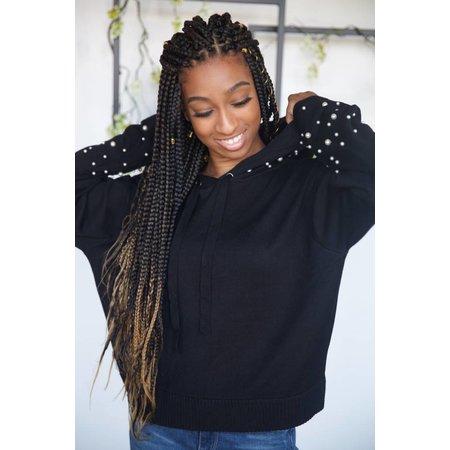 ELAN Pearl Crop Sweatshirt