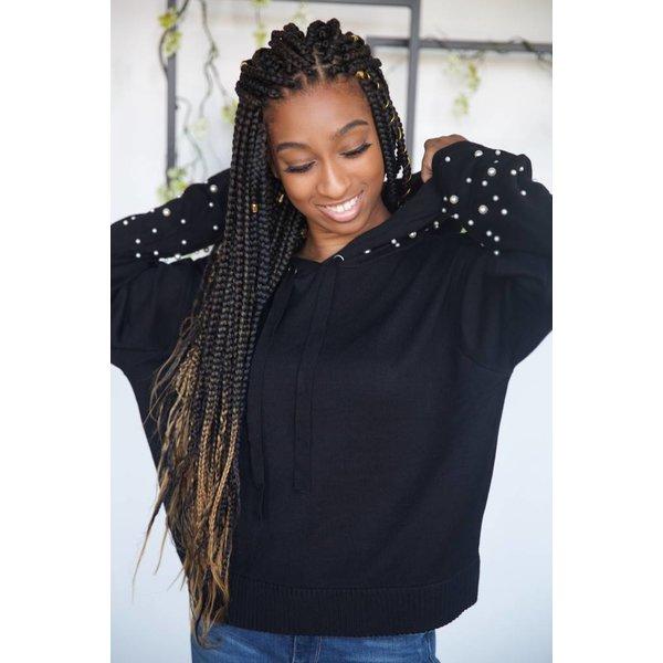 Pearl Crop Sweatshirt
