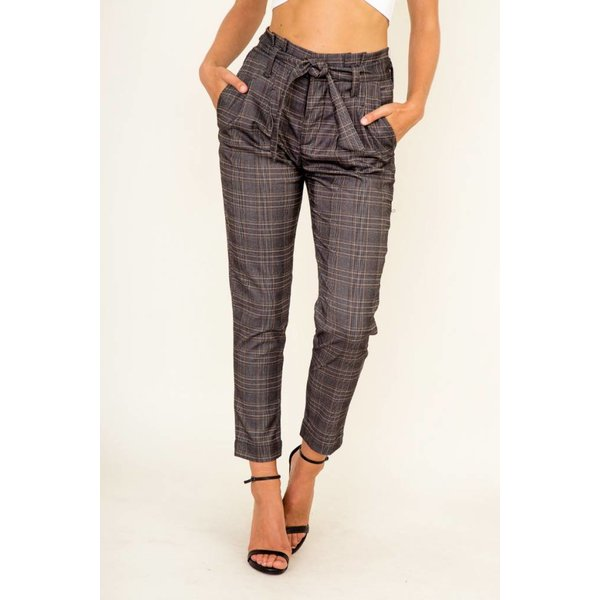 Betty Plaid Pant