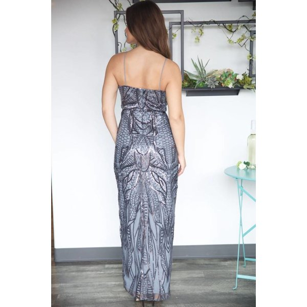 Angel Sequin Maxi