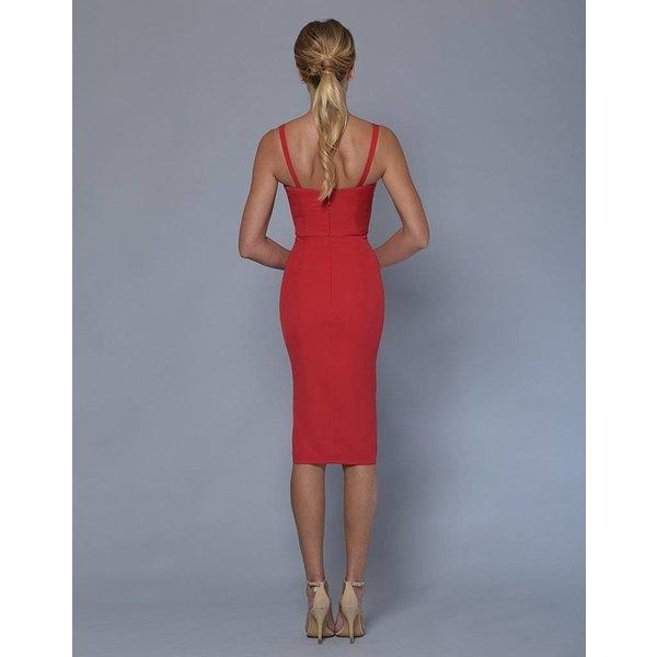 Lizzie Bustier Split Dress
