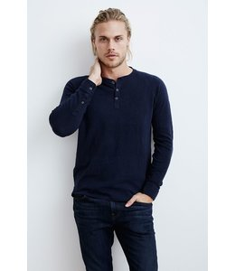 VELVET MENS KESLIN L/S BUTTON POLO
