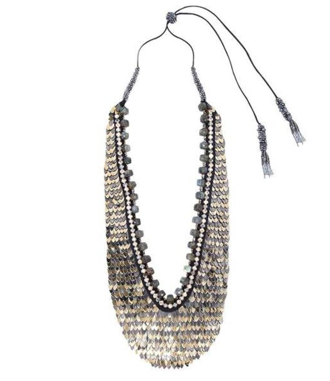 DEEPA GURNANI CHANEL NECKLACE