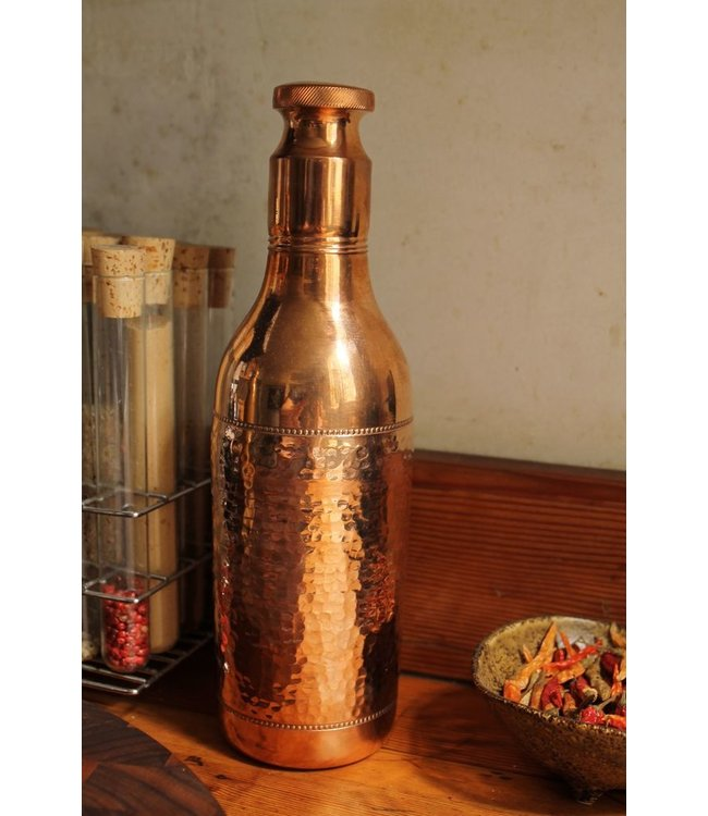 THREAD LOUNGE TALL COPPER WATER BOTTLE