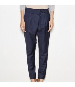 HOSS/INTROPIA NAVY BLUE TROUSER
