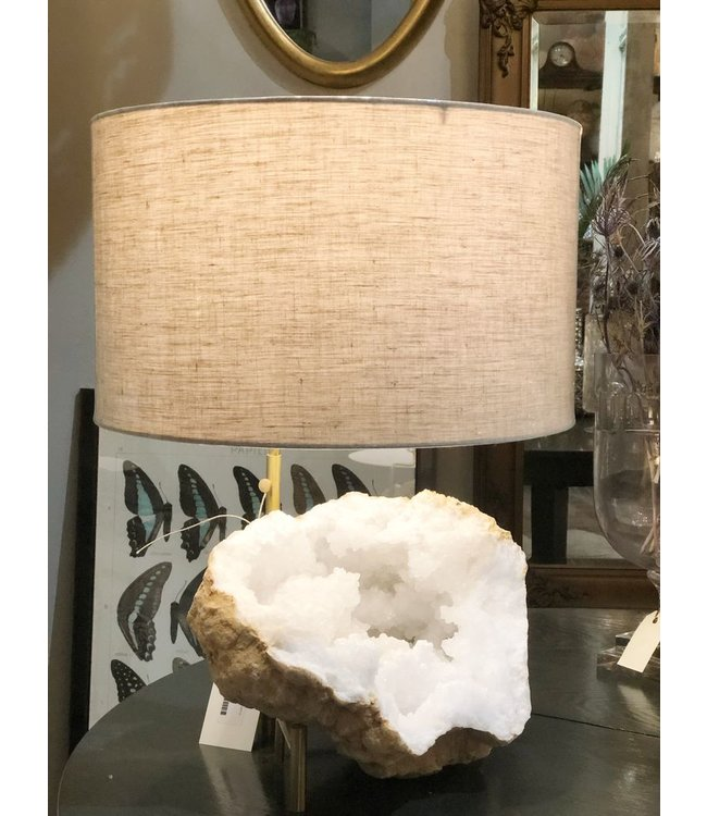 ROOST GEODE MINERAL LAMP