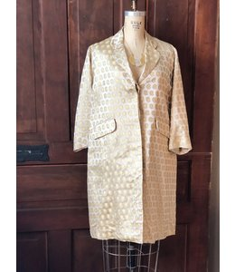 LONG GOLD DYNASTY COAT