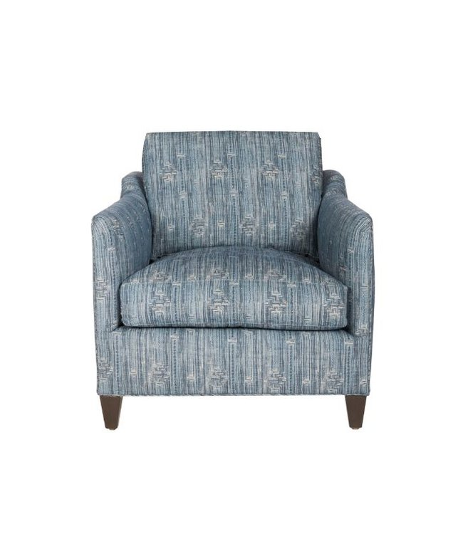 CISCO BROTHERS GUNNER CHAIR IN INLAY INDIGO FEATHER CLOUD