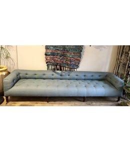 CISCO BROTHERS JOHN DERIAN 9' FIELD BENCH BREVARD MARINE BLUE