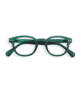 AMEICO READING GLASSES #C - GREEN CRYSTAL SOFT