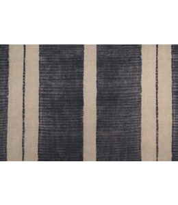 CISCO BROTHERS NANDA STRIPE MIDNIGHT FABRIC BY THE YARD
