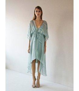 HOSS/INTROPIA Palestinian Pattern Midi Dress