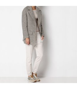 HOSS/INTROPIA MASCULINE TWEED JACKET ICE