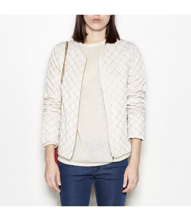 HOSS/INTROPIA QUILTED GEOMETRIC JACKET
