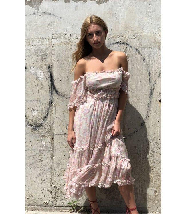 LOVE SAM SADIE PRINTED SUMMER DRESS