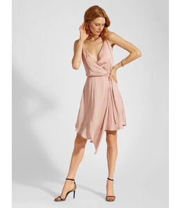 HAUTE HIPPIE BULLION CAMI DRESS - BLUSH