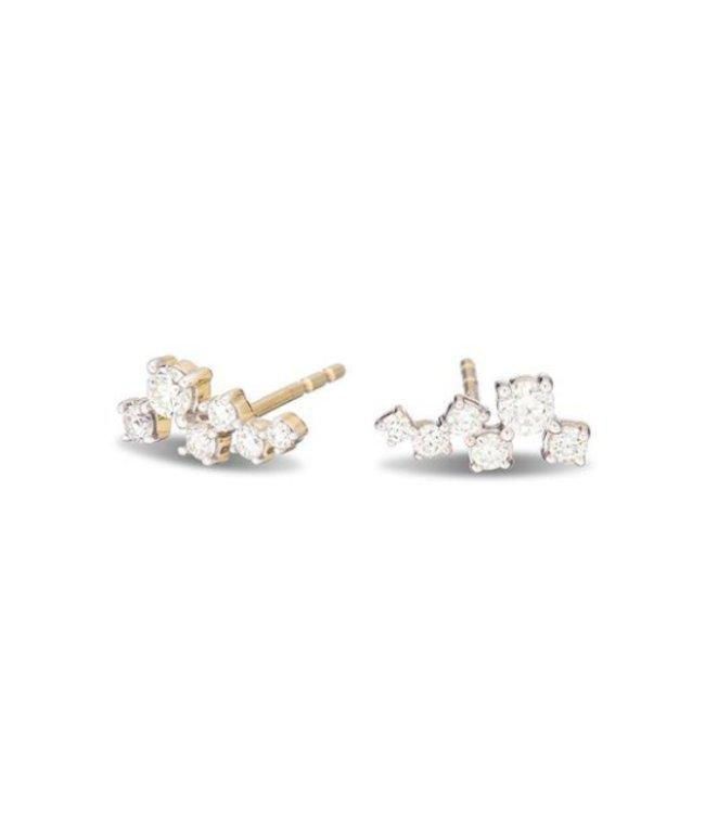 ADINA REYTER SCATTERED DIAMOND POSTS