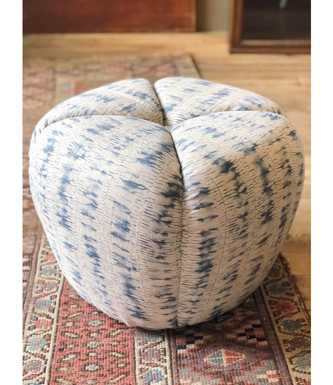 "CISCO BROTHERS TONTO OTTOMAN IN THIDA PERIWINKLE (J), 18""w x 14""h x 18""d"