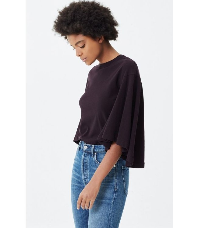 CITIZENS OF HUMANITY JERSEY FLUTTER T