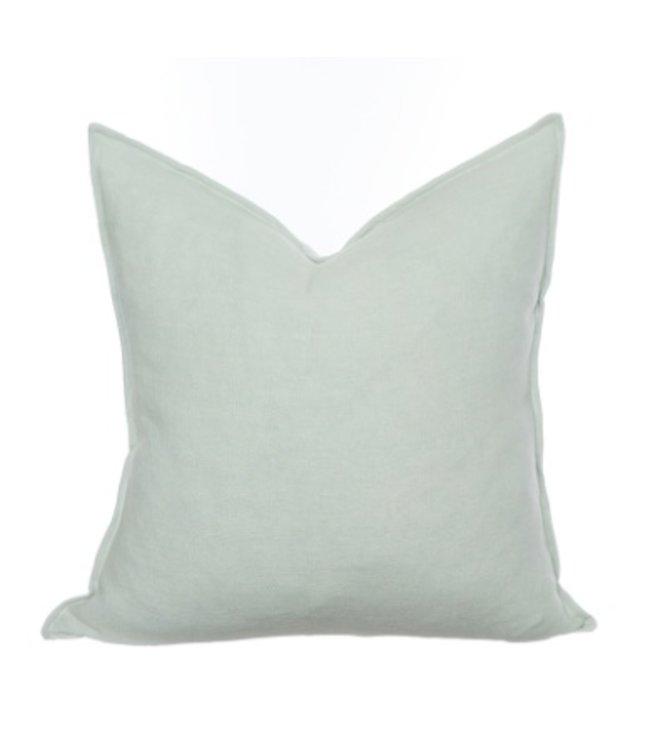HOUSE OF CINDY HAVEN PILLOW - AGUAMARINE - 22X22