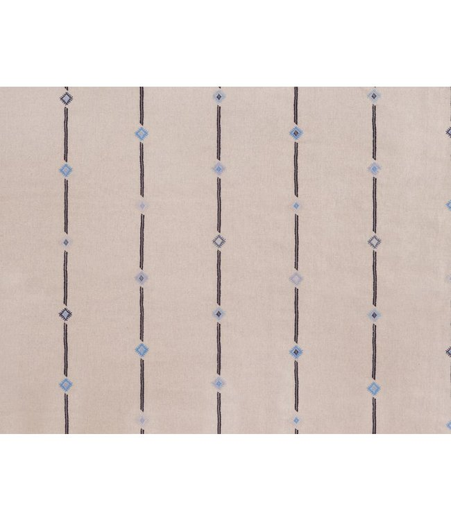 CISCO BROTHERS AMAL NATURAL OCEAN FABRIC BY THE YARD