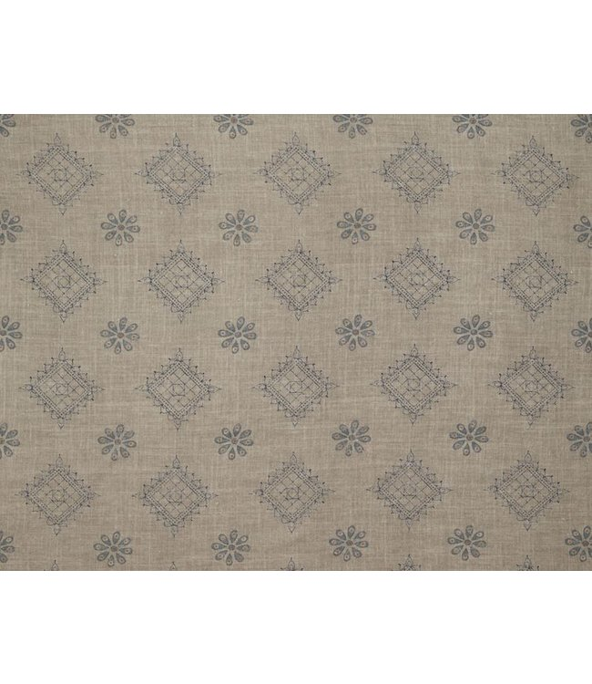 CISCO BROTHERS CHARLIZE GUNMETAL FABRIC BY THE YARD