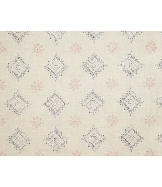 CISCO BROTHERS CHARLIZE SILVER FABRIC BY THE YARD