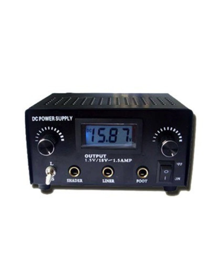 Tattoo DC Power Supply - Black