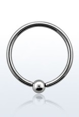 Ball closure ring, 16g, 3mm ball-10MM