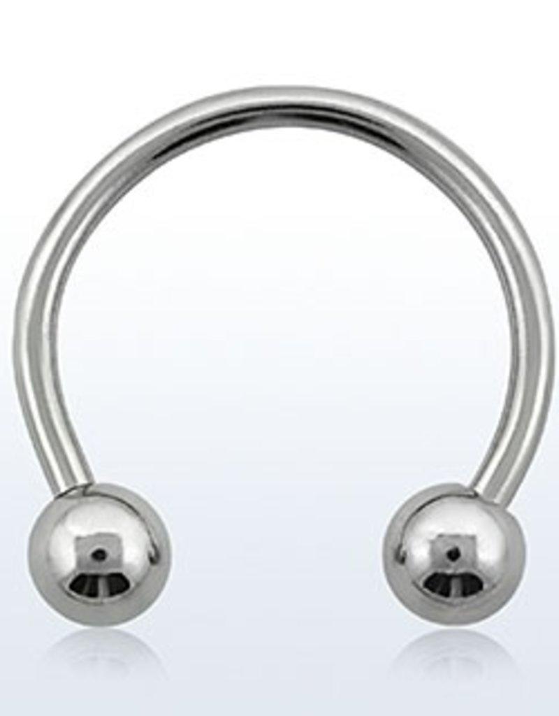 Circular barbell, 14g, 5mm ball - 8MM