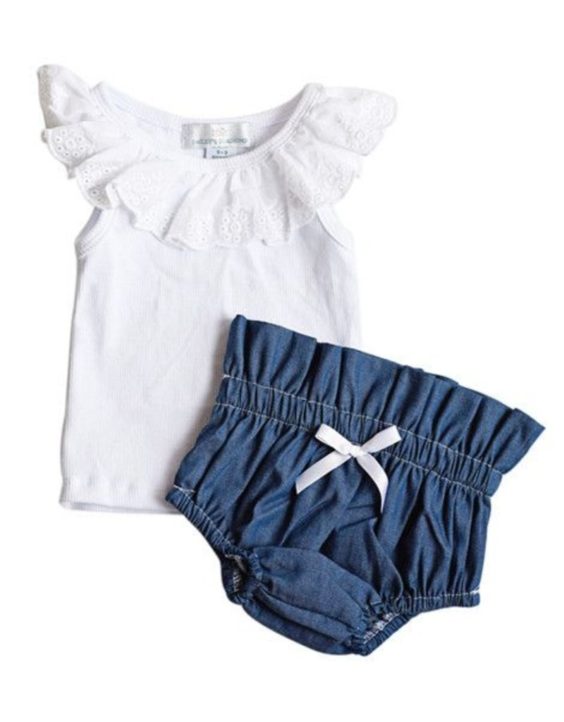 Shirley Top and Bloomer Set