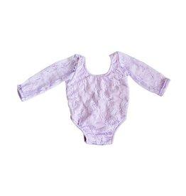 Lace Leotard - Lavender