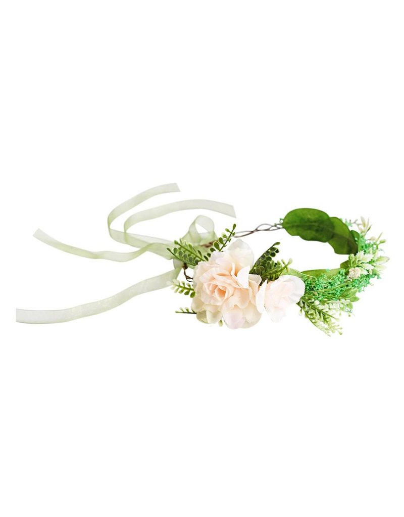 Bailey's Blossoms Greenery Floral Headpiece