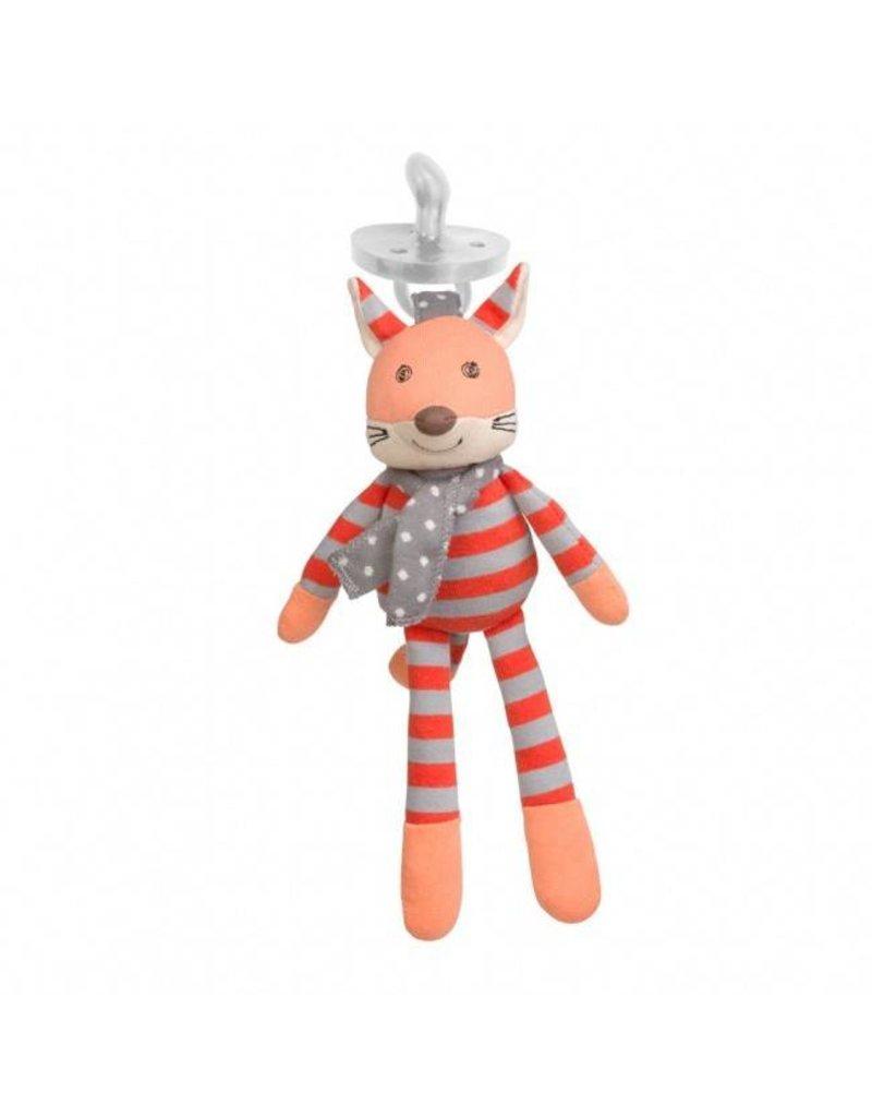 Apple Park Organic Pacifier Buddies - Frenchy Fox