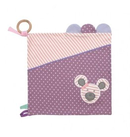 Apple Park Ballerina Mouse Activity Blankie