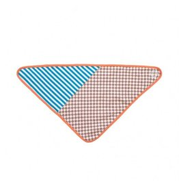 Apple Park Checkerboard Bandana Bib