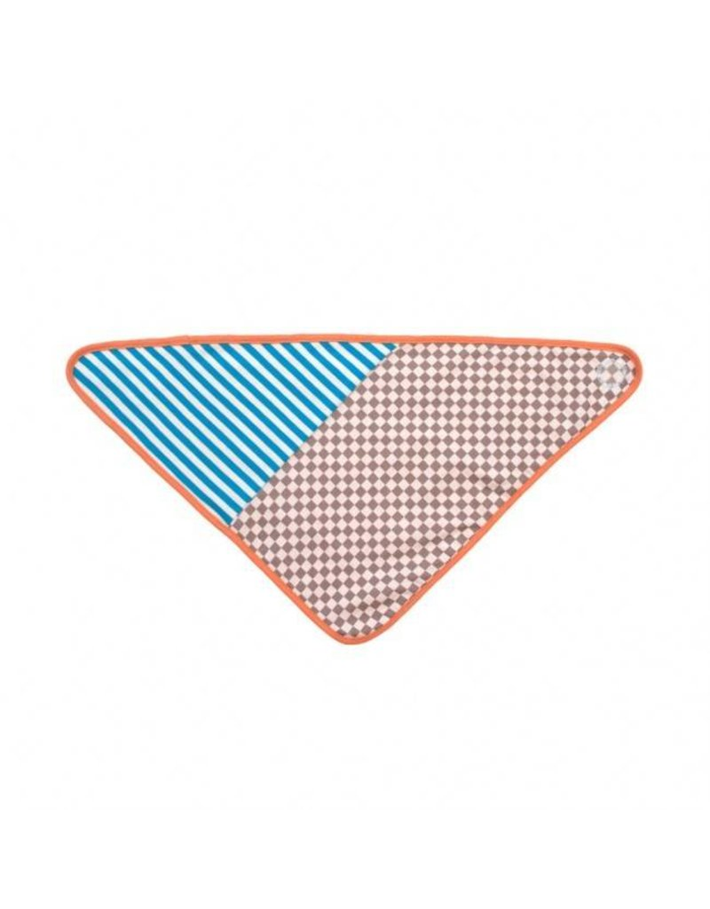 Checkerboard Bandana Bib