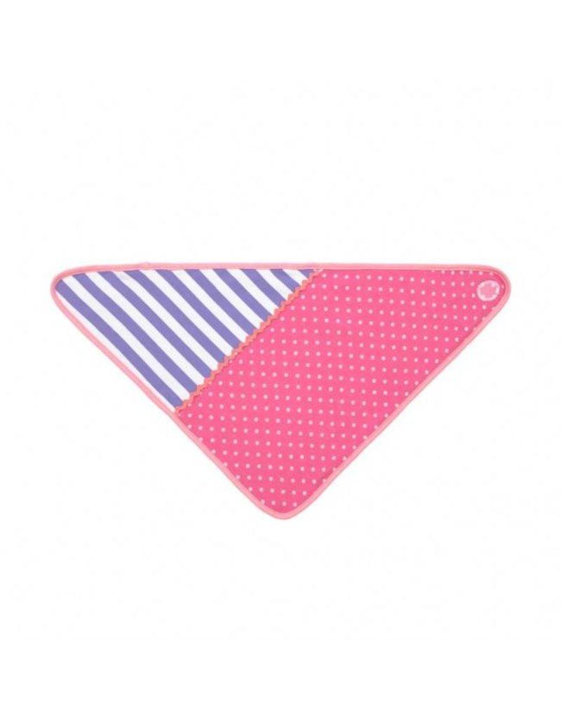 Apple Park Pink Polka Dots Bandana Bib