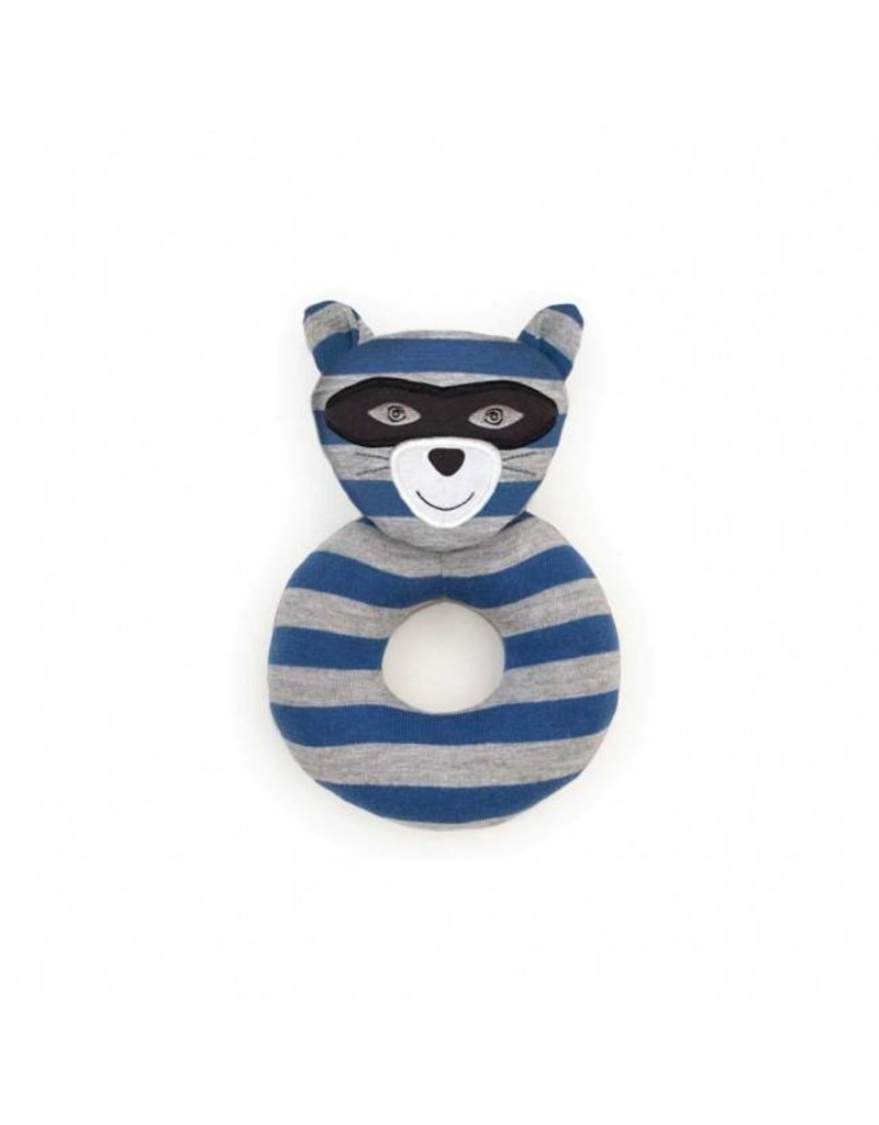 Robbie Raccoon Rattle