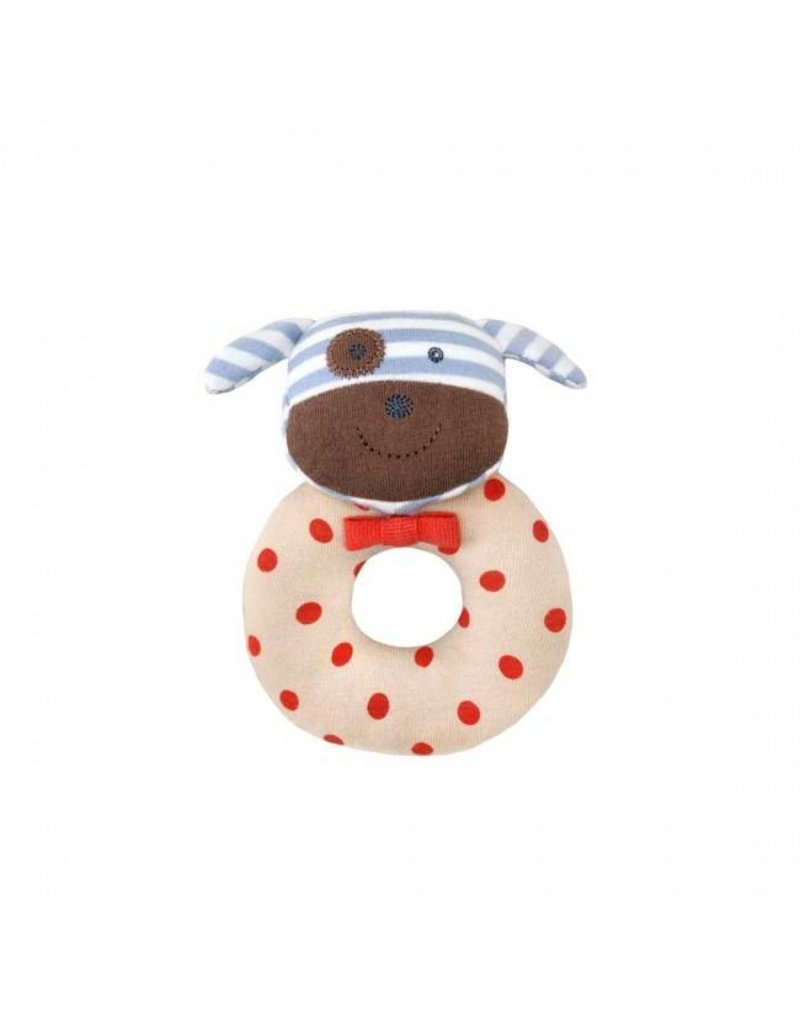 Apple Park Boxer Dog Rattle
