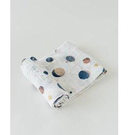 Little Unicorn Cotton Swaddle - Planetary
