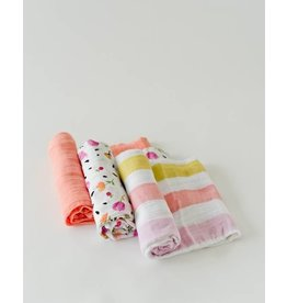 Cotton Swaddle Set - Cabana Stripe