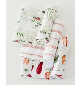 Cotton Swaddle Set - Farmers Market